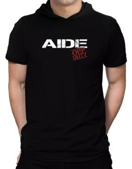 Aide - Off Duty Hooded T-Shirt - Mens