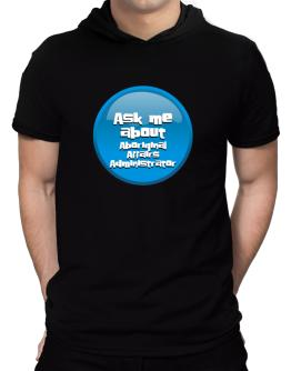 Ask Me About Aboriginal Affairs Administrator Hooded T-Shirt - Mens