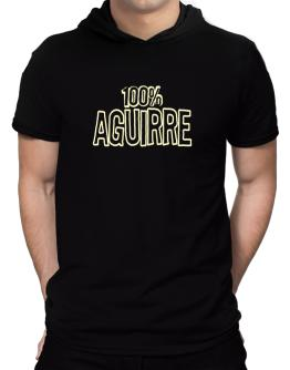 100% Aguirre Hooded T-Shirt - Mens