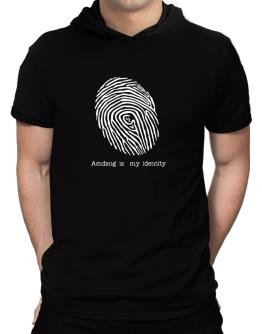 Amdang Is My Identity Hooded T-Shirt - Mens