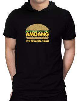 Amdang My Favorite Food Hooded T-Shirt - Mens