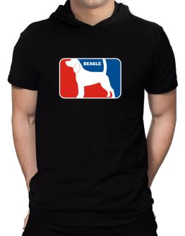 Beagle Sports Logo Hooded T-Shirt - Mens