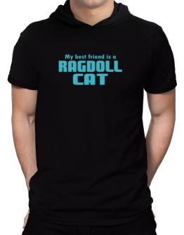 My Best Friend Is A Ragdoll Hooded T-Shirt - Mens