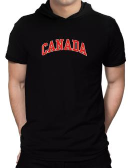 Canada - Simple Hooded T-Shirt - Mens