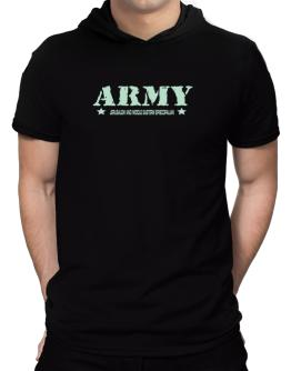Army Jerusalem And Middle Eastern Episcopalian Hooded T-Shirt - Mens