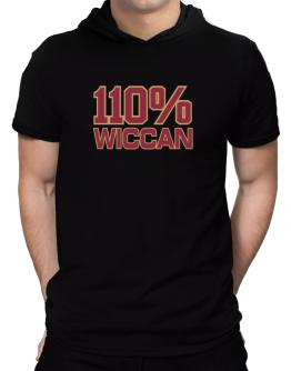 110% Wiccan Hooded T-Shirt - Mens