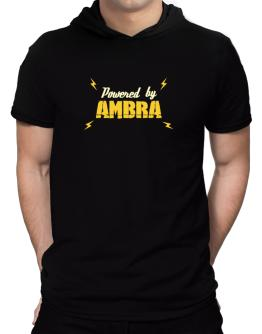 Powered By Ambra Hooded T-Shirt - Mens