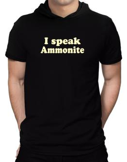 I Speak Ammonite Hooded T-Shirt - Mens