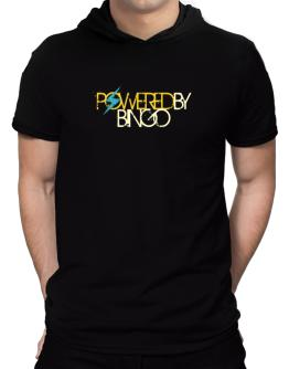Powered By Bingo Hooded T-Shirt - Mens