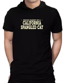 PROUD PARENT OF A California Spangled Cat Hooded T-Shirt - Mens