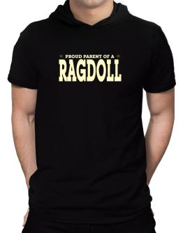 PROUD PARENT OF A Ragdoll Hooded T-Shirt - Mens