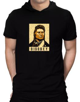 Disobey Hooded T-Shirt - Mens