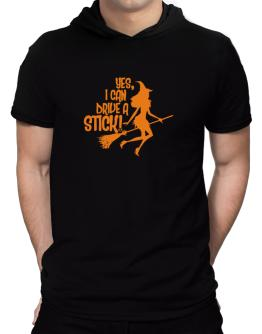 Yes, I Can Drive A Stick! Hooded T-Shirt - Mens