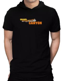 The Grand Canyon Hooded T-Shirt - Mens