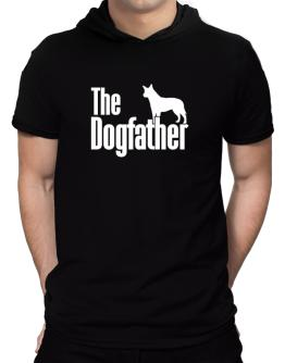 The dogfather Australian Cattle Dog Hooded T-Shirt - Mens