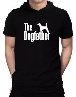 The dogfather Beagle Hooded T-Shirt - Mens