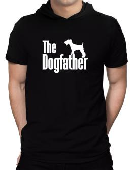 The dogfather Fox Terrier Hooded T-Shirt - Mens