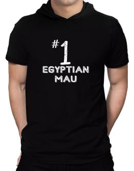 Number 1 Egyptian Mau Hooded T-Shirt - Mens