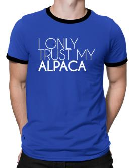I only trust my Alpaca 2 Ringer T-Shirt