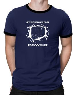 Abecedarian Power Ringer T-Shirt