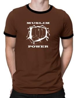 Muslim Power Ringer T-Shirt