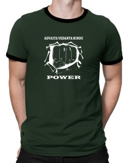 Advaita Vedanta Hindu Power Ringer T-Shirt