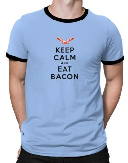 Keep calm and eat Ringer T-Shirt