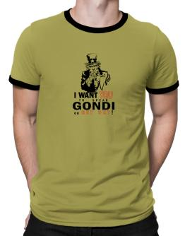 I Want You To Speak Gondi Or Get Out! Ringer T-Shirt