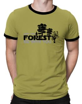 May the forest be with you Ringer T-Shirt