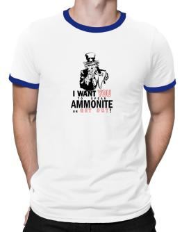 I Want You To Speak Ammonite Or Get Out! Ringer T-Shirt