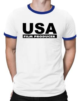 Usa Film Producer Ringer T-Shirt
