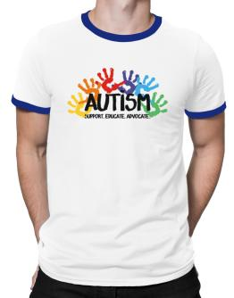 Autism support Ringer T-Shirt