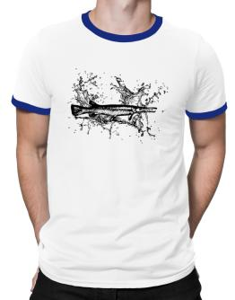 Alligator Gar sketch Ringer T-Shirt