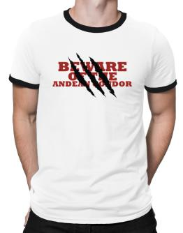 Beware Of The Andean Condor Ringer T-Shirt