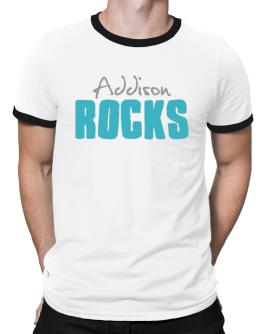 Addison Rocks Ringer T-Shirt