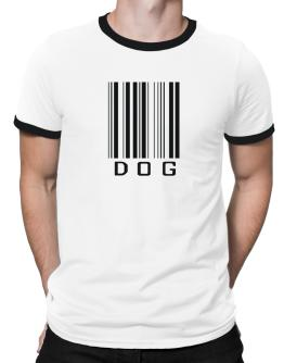 Dog Barcode / Bar Code Ringer T-Shirt