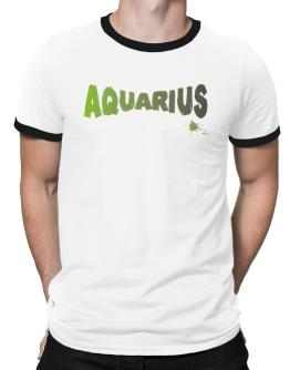 Aquarius Ringer T-Shirt