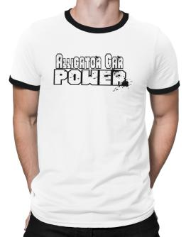 Alligator Gar Power Ringer T-Shirt