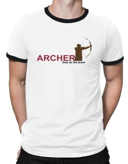 Archery - Only For The Brave Ringer T-Shirt