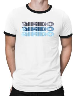 Aikido Retro Color Ringer T-Shirt