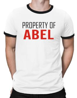 Property Of Abel Ringer T-Shirt