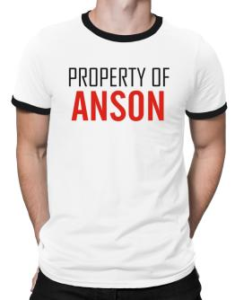 Property Of Anson Ringer T-Shirt