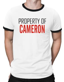Property Of Cameron Ringer T-Shirt