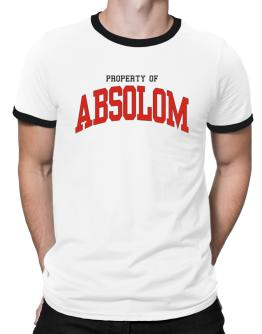 Property Of Absolom Ringer T-Shirt