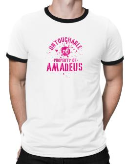 Untouchable : Property Of Amadeus Ringer T-Shirt