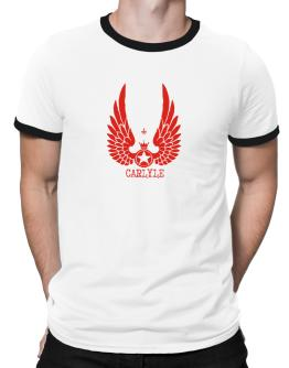 Carlyle - Wings Ringer T-Shirt