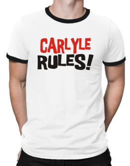 Carlyle Rules! Ringer T-Shirt