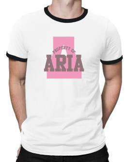 Property Of Aria Ringer T-Shirt