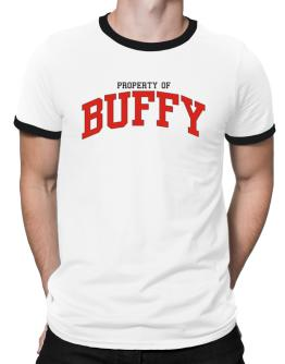 Property Of Buffy Ringer T-Shirt