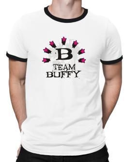Team Buffy - Initial Ringer T-Shirt